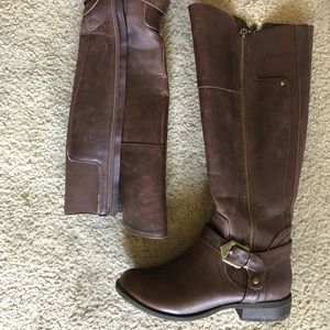 G by guess riding boot.